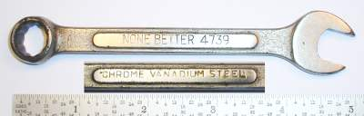 [None Better 4739 7/16 Combination Wrench]