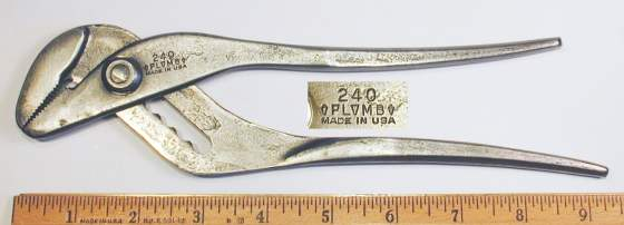 [Plomb 240 Waterpump Pliers]