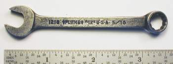[Plomb 1210 5/16 Combination Wrench]