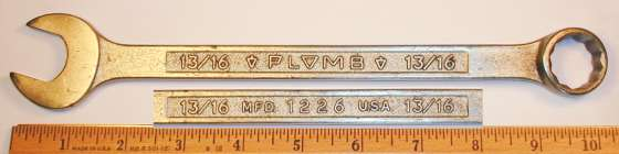 [Plomb 1226 13/16 Combination Wrench]