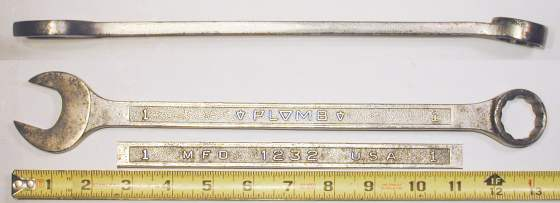 [Plomb 1232 1 Inch Combination Wrench]