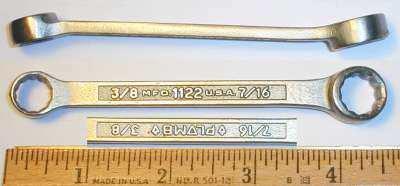 [Plomb 1122 3/8x7/16 Box-End Wrench]