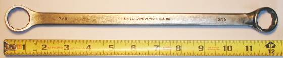 [Plomb 1140 13/16x7/8 Box-End Wrench]