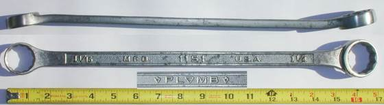 [Plomb 1151 1-1/16x1-1/4 Box-End Wrench]