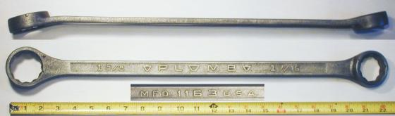 [Plomb 1163 1-7/16x1-5/8 Box-End Wrench]