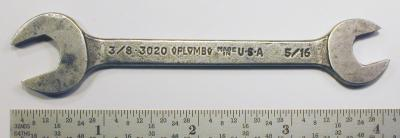 [Plomb 3020 5/16x3/8 Open-End Wrench]