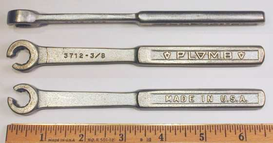 [Plomb 3714 7/16 Flare-Nut Wrench]