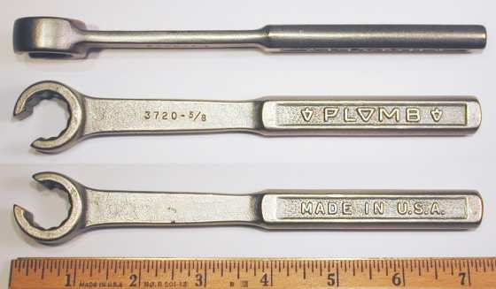 [Plomb 3720 5/8 Flare-Nut Wrench]