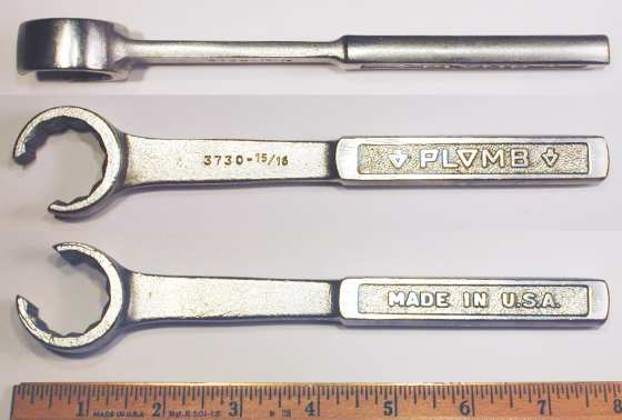 [Plomb 3730 15/16 Flare-Nut Wrench]
