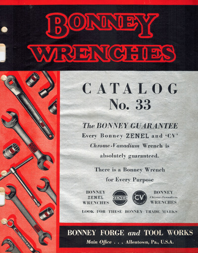 [Front Cover of 1933 Catalog]