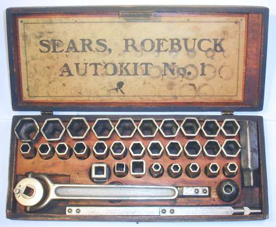 [Sears Roebuck Autokit No. 1 Socket Set]