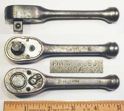 [Snap-on F-71C 3/8-Drive Short-Handled Ratchet]