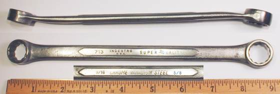 [Indestro Super-Quality 713 9/16x5/8 Box Wrench]
