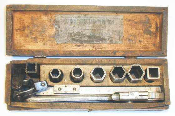 [Syracuse Wrench Ford Special Wrench Socket Set]