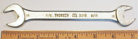 [Thorsen 3018 9/16x5/8 Open-End Wrench]