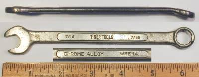[Tiger Tools 7/16 Combination Wrench]