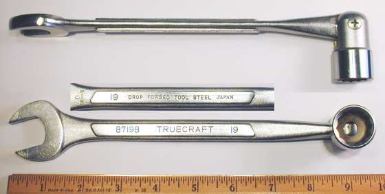 [Truecraft B719B 19mm Flex-Box Combination Wrench]