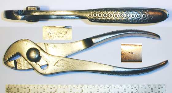 [Vacuum Grip No. 61 6 Inch Angle-Grip Pliers]