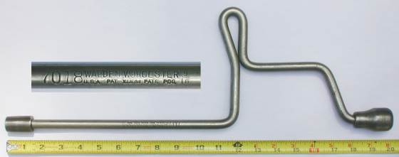 [Walden 7018 9/16 Long Brace Socket Wrench]