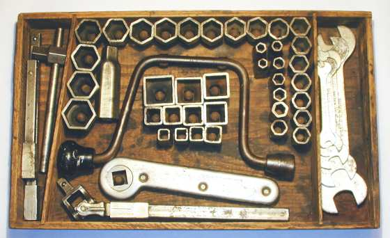 [Walden No. 12 Combination Socket Wrench Set]