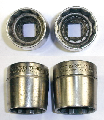 [Ward's Riverside Chromium Vanadium 1/2-Drive Sockets]