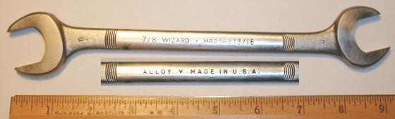 [Wizard HR2062 13/16x7/8 Open-End Wrench]