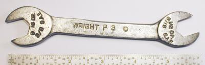 [Wright Early Pe 1/2x9/16 Open-End Wrench]